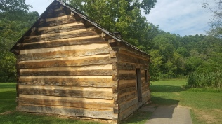 Lincoln's boyhood home.