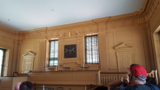 Court Room in Independence Hall